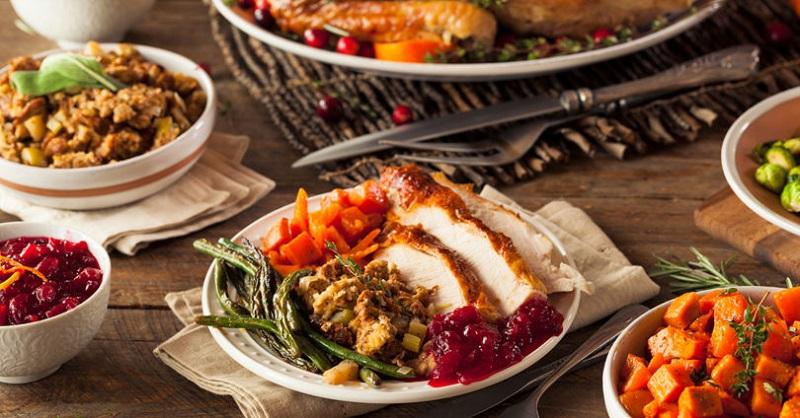 Thanksgiving Dinner Healthier