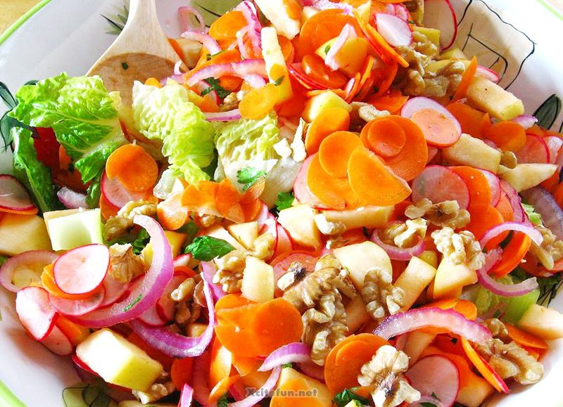 Types Of Salads Fruit And Food