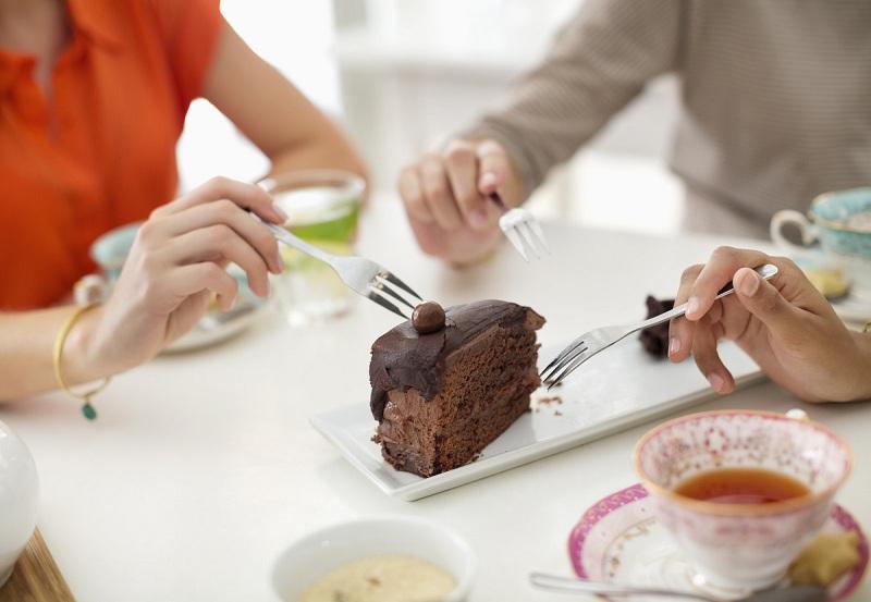 Share the dessert