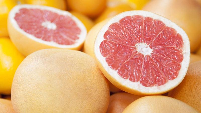 Grapefruit to exhaust weight