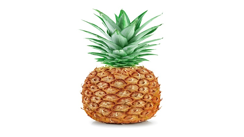 Pineapple to exhaust weight