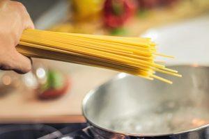 prepare pasta