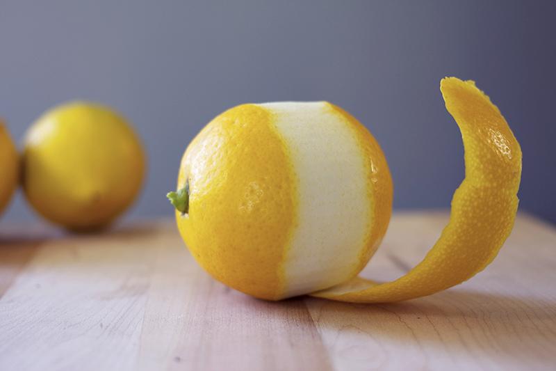 lemons without peel