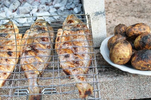perfect fish barbecue