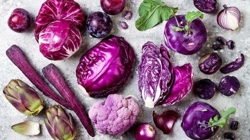 Benefits of purple vegetables